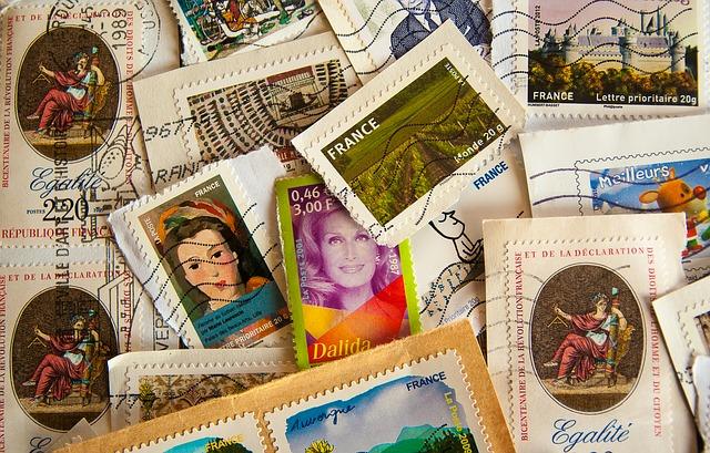 sběr známek
