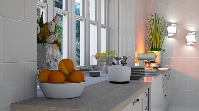 kuchyňské světlo