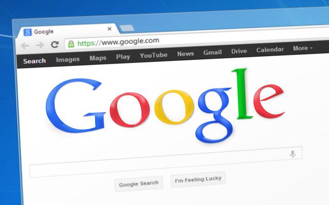 Hlavná stránka Google prehliadača