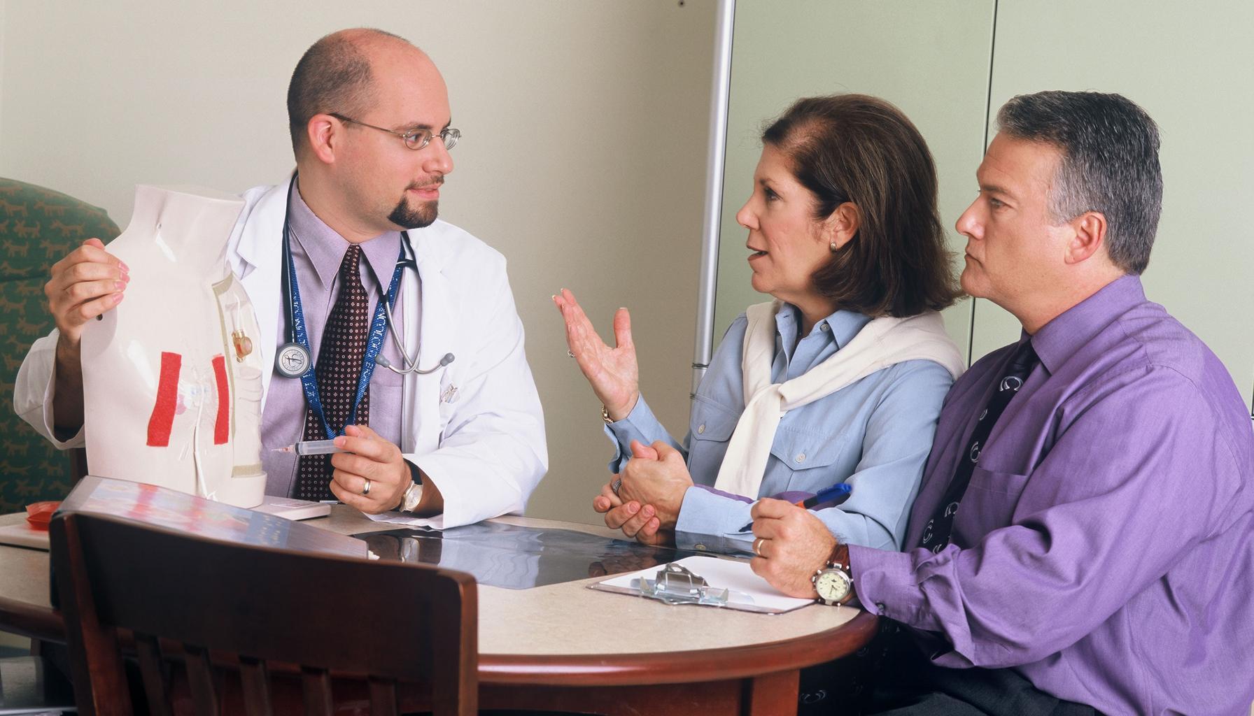 lekár, komunikácia
